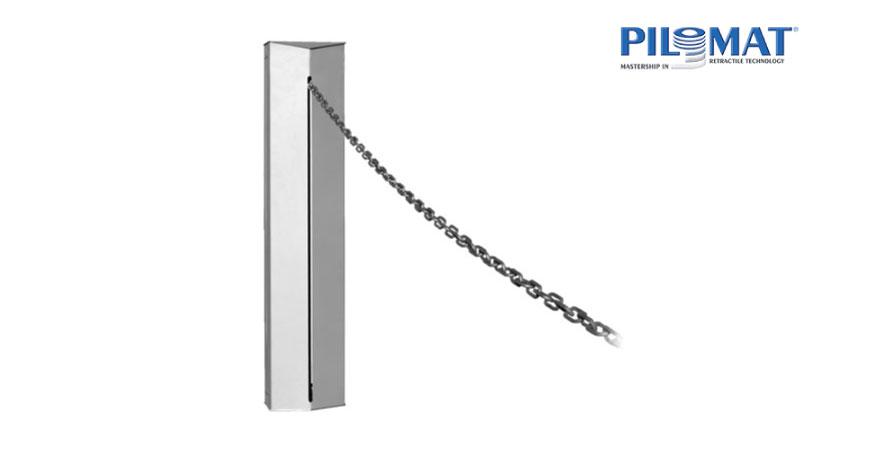 חסום שרשרת חשמלי תוצרת PILOMAT איטליה מתאים לפתחים עד 20 מטר