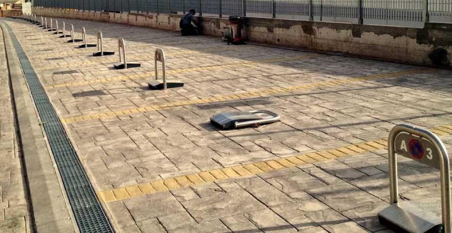 מחסום חניה אישי - מולטי פארק - שערים מחסומים מבית שערים (אב-שער)