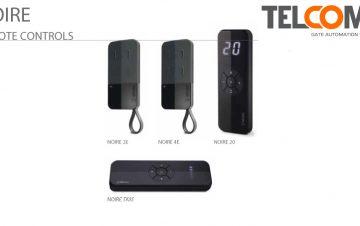אמצעי פתיחה לשערים עם רולינג קוד או קוד קבוע - Telcoma Noire Series
