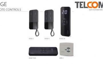 משדרים מקלטים בעלי קוד קבוע לפתיחת שערים חשמליים טלקומה - Telcoma Edge Series