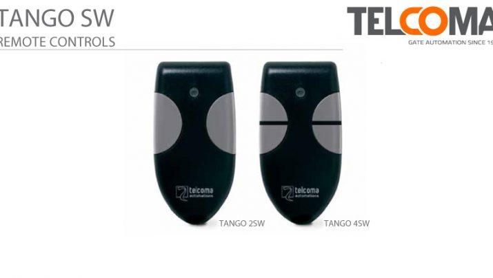אמצעי פתיחה לשערים הניתנים לתכנות עם קוד קבוע - Telcoma Tango SW Series