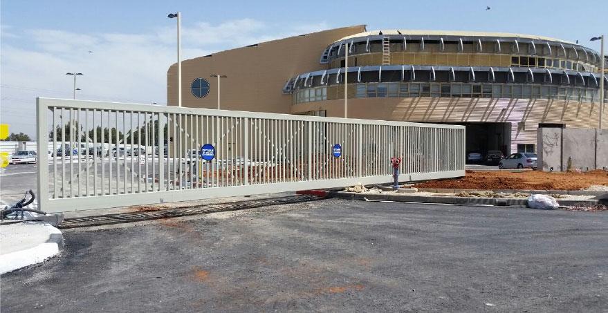 שער קונזולי כבד 20 מטר - שערים (אב-שער)