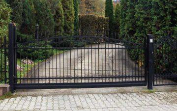 שער לבית פרטי - שער חניה חשמלי לבית פרטי