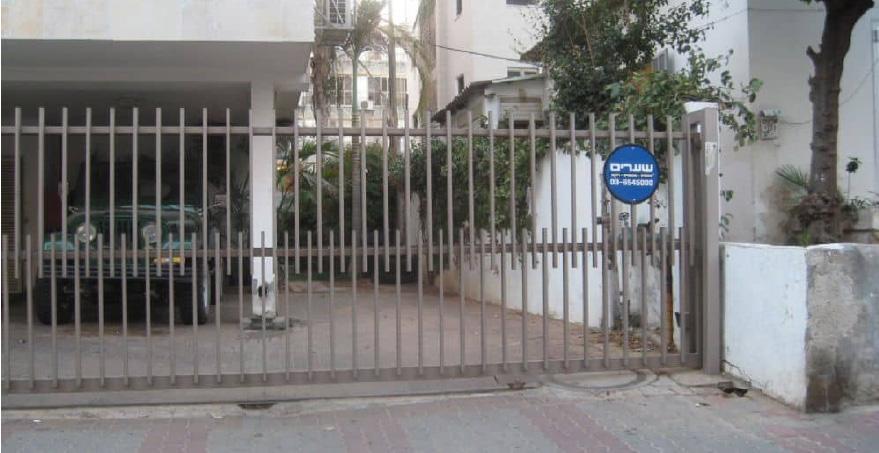 שער חשמלי נגרר או שער נגרר חשמלי - שערים (אב שער)