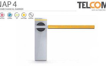 מחסום זרוע חשמלי - Telcoma SNAP