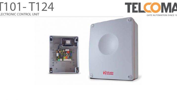 פיקוד ובקרה אלקטרוני מנוע שער הזזה חשמלי - Telcoma T101
