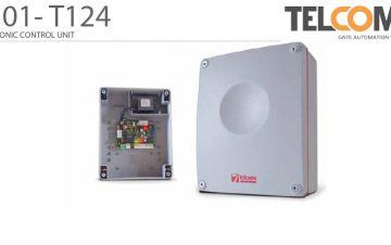 פיקוד ובקרה אלקטרוני מנוע שער הזזה חשמלי טלקומה - Telcoma T124