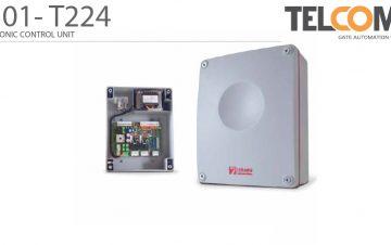 פיקוד ובקרה אלקטרוני לשני מנועי שערי הזזה נגררים חשמליים טלקומה - Telcoma T201.