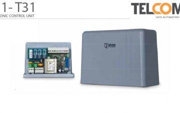 פיקוד ובקרה אלקטרוני מנוע תריס גלילה טלקומה - Telcoma T31