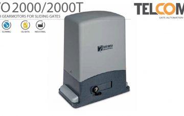 מנוע חשמלי אלקטרומכני טבול שמן לשער הזזה נגרר - Telcoma EVO2000