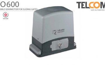 מנוע חשמלי אלקטרומכני לשער הזזה נגרר - Telcoma EVO600 - שערים (אב-שער)