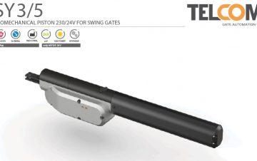 מנוע חשמלי אלקטרומכני לשער כנף - Telcoma ASY5