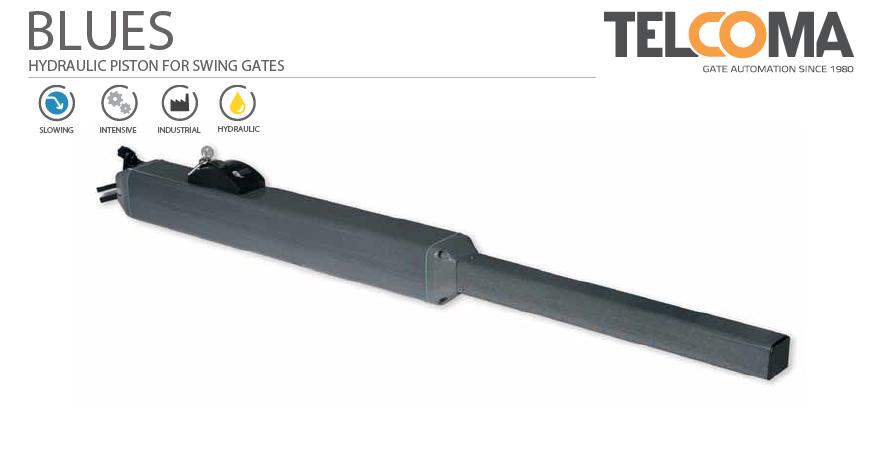 מנוע הידראולי רב עוצמה לשער כנף - Telcoma BLUES3