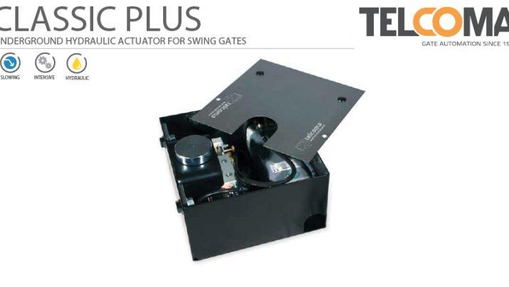 מנוע הידראולי תת קרקעי לשער כנף - Telcoma CLASSIC PLUS