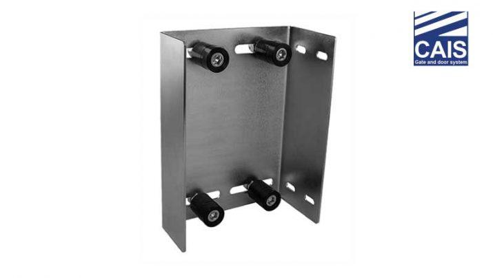 פח עם ארבעה גלילים מכוונים מתכוונן לדלתות ושערי הזזה - CAIS GRM 4