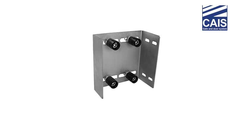 פח עם ארבעה גלילים מכוונים מתכוונן לדלתות ושערי הזזה - CAIS GRS 4
