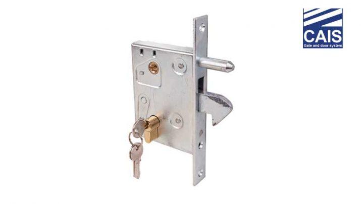מנגנון נעילה עם מפתח לדלתות ושערי הזזה - CAIS LOCK L