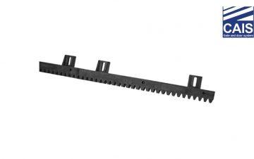 פס שיניים מאוקלון עם קיבועים תחתונים לשער הזזה נגרר - CAIS S