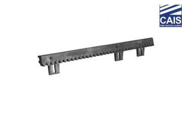 פס שיניים מברזל עם קיבועים תחתונים לשער הזזה נגרר - CAIS V