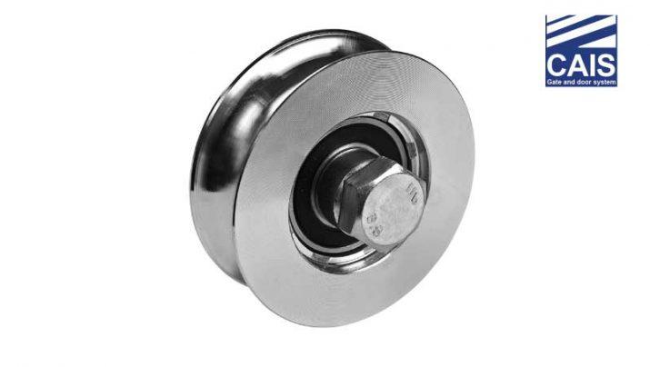 """גלגל מחורץ """"O"""" בעל מיסב יחיד לדלתות ושערי הזזה - CAIS WO"""