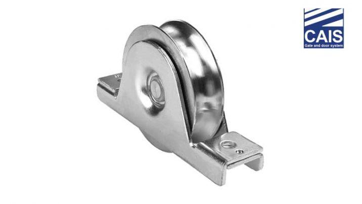"""גלגל מחורץ """"O"""" בעל מיסב יחיד עם תמיכה פנימית לדלתות ושערי הזזה - CAIS WSO"""