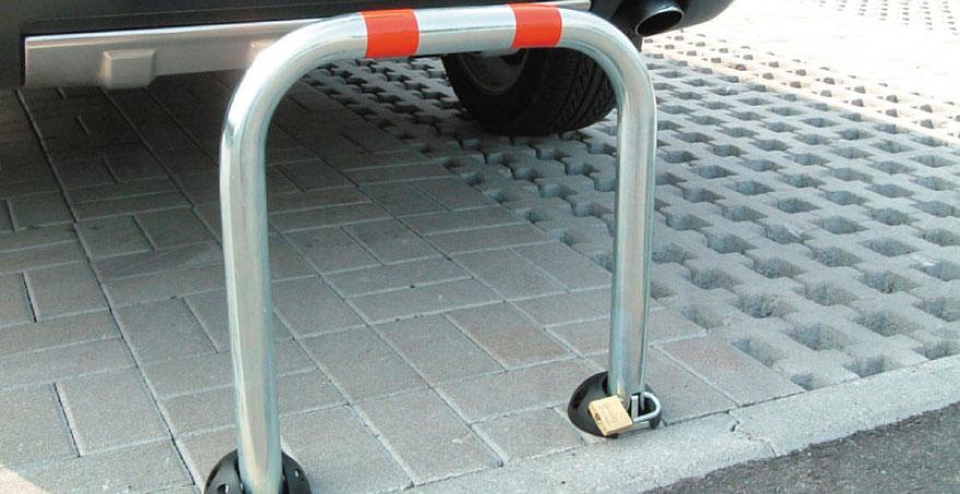 עמוד מחסום שומר חניה - PILOMAT PARKY AR50