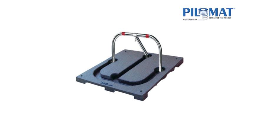 עמוד מחסום שומר חניה - PILOMAT PARKY ARB580