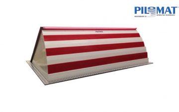 מחסום דרך ביטחוני טמון למניעת התפרצות - PILOMAT ROAD BLOCKER 500 Series