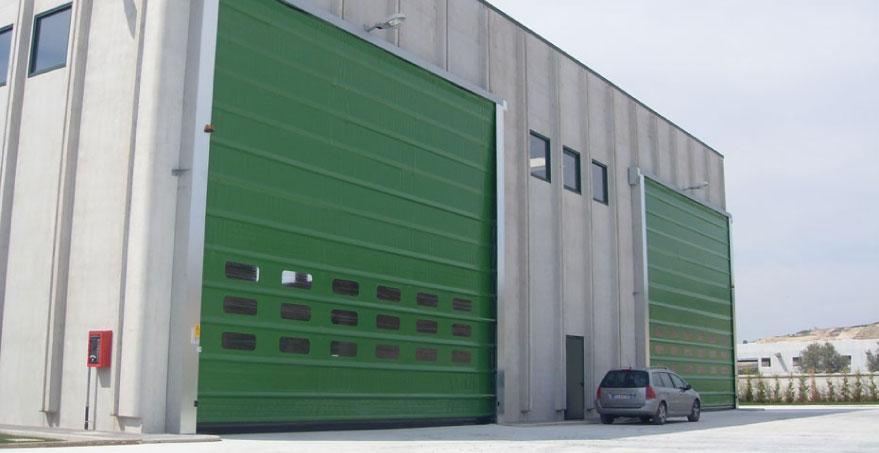 דלת מהירה PVC מתקפלת