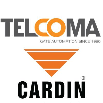 טלקומה וקרדין, יצרניות מנועים לשערים ואמצעי שליטה ובקרה